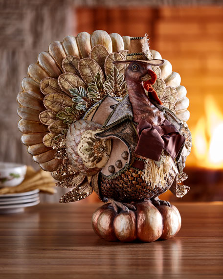 Large Resin Turkey