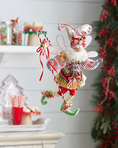 Limited-Edition Candy Cane Fairy