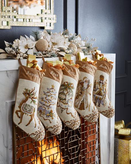 Ornaments Needlepoint Stocking