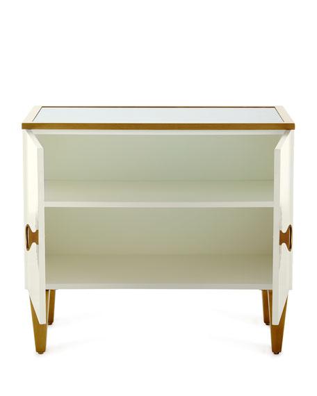 Tye Mirror Top Cabinet
