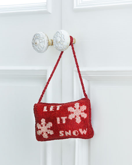 Let it Snow Door Knocker