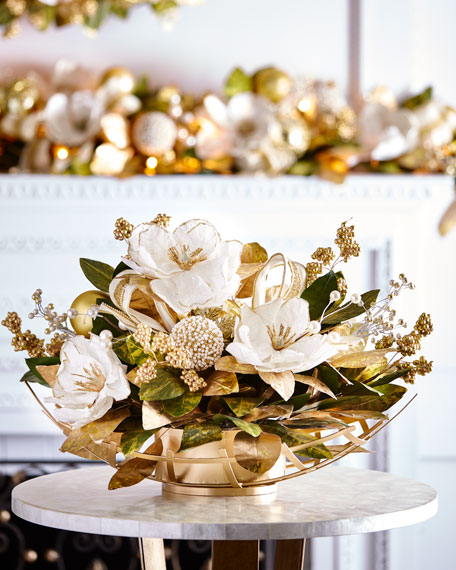 Gold & Glitter Collection Centerpiece
