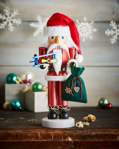 Santa Pilot Nutcracker