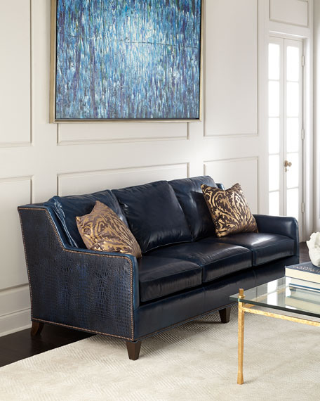 Manning Leather Sofa