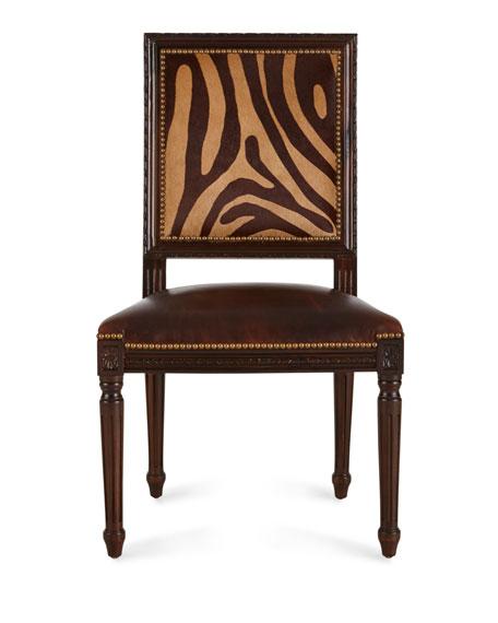 Vega Hairhide Dining Chair