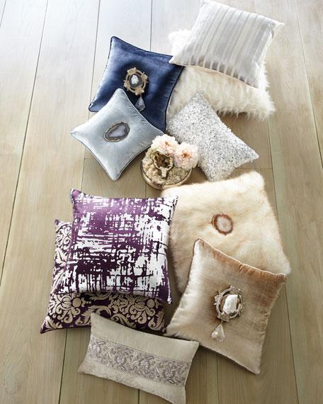 Joule Paris Quartz Medallion Pillow