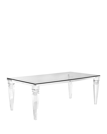Christelle Acrylic Dining Table