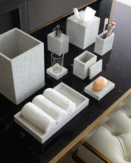 Terrazo Tissue Box Cover
