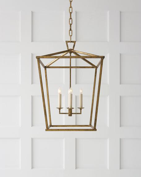 Chapman & Myers Darlana Medium Lantern