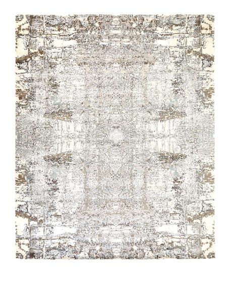 Jubilee Rug, Lavender, 6' x 9'