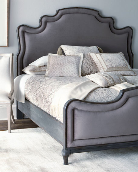 Hooker Furniture Palmeiro Upholstered Queen Bed