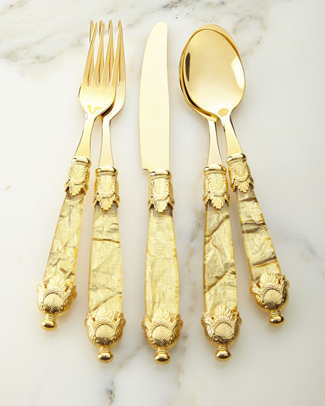 20-Piece Sienna Flatware Set