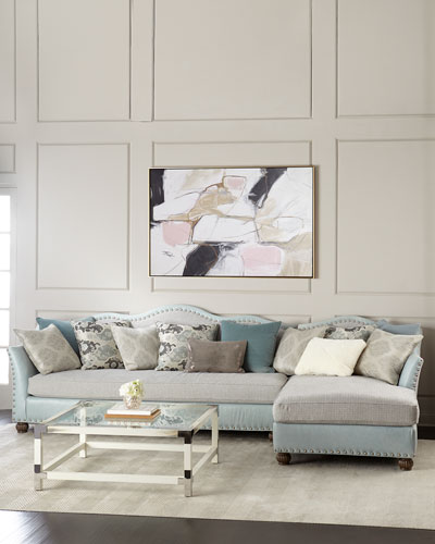 Trulee Right Chaise Sectional