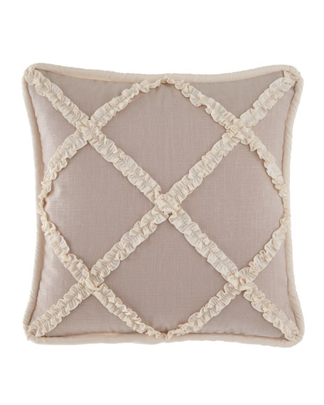 Paloma Ruffle Square Pillow