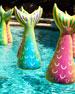 Donald Mermaid Tail Bobber Pool Float