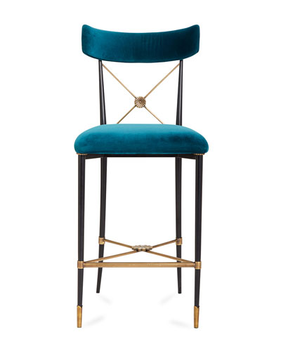 Rider Counter Stool  Blue