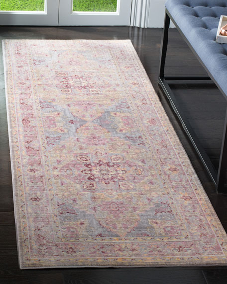 "Baines Power-Loomed Runner, 2'6"" x 7'9"""