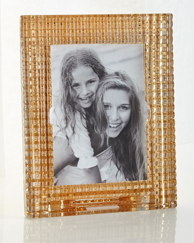 Eye Crystal Picture Frame, Golden - 5