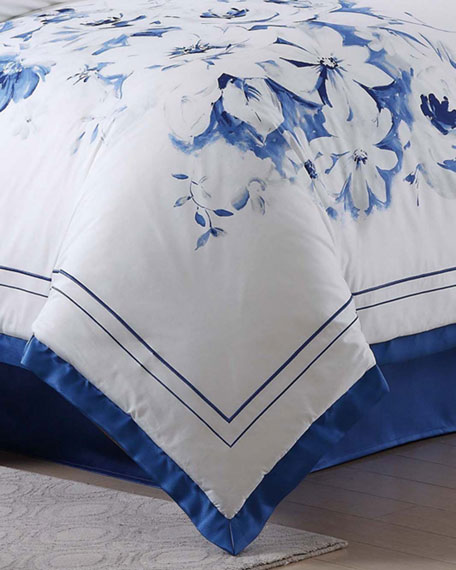 Charisma Alfresco Floral Queen Comforter Set
