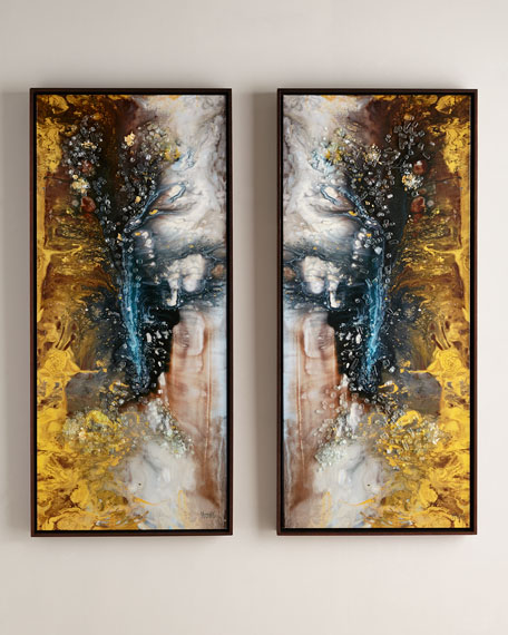 Mary Hong Heavenly Pair I & II Giclees