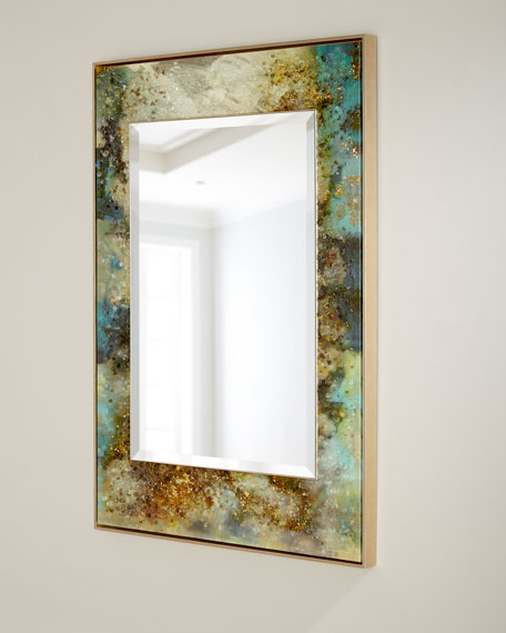 "Mary Hong's ""Galactic"" Mirror Wall Art"