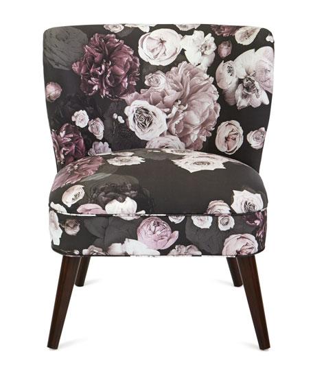 Carmen Floral Accent Chair