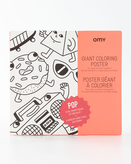 POP Giant Coloring Poster