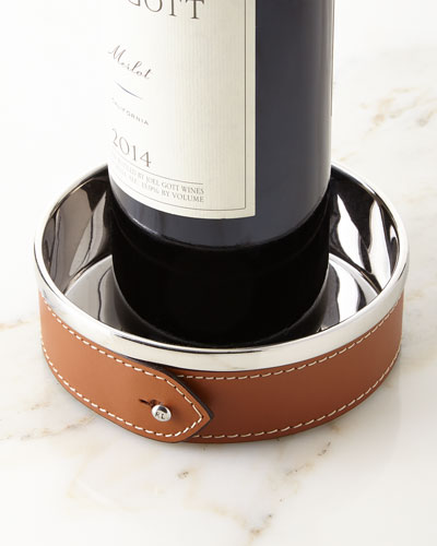 Wyatt Wine Bottle Coaster