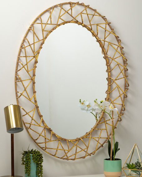 Cooper Classics in Wood Orson Mirror