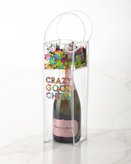 Crazy Good Cheer Wine Gift Bag