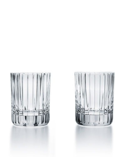 Harmonie Crystal Triple Old-Fashioned Glasses  Set of Two