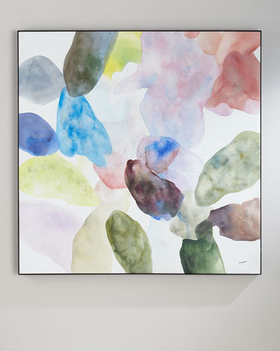 Teng Fei's Color Wash Oil Painting