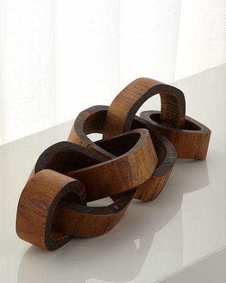 Wooden Links Centerpiece