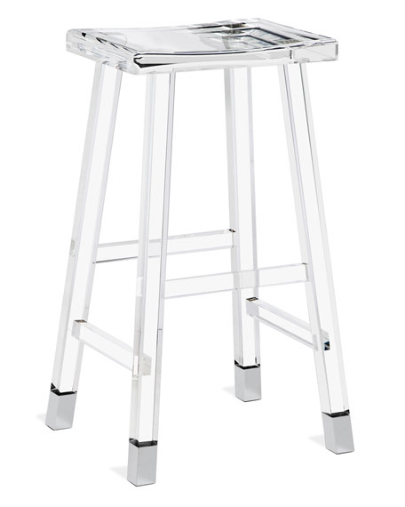 Interlude Home Darnell Acrylic Bar Stool