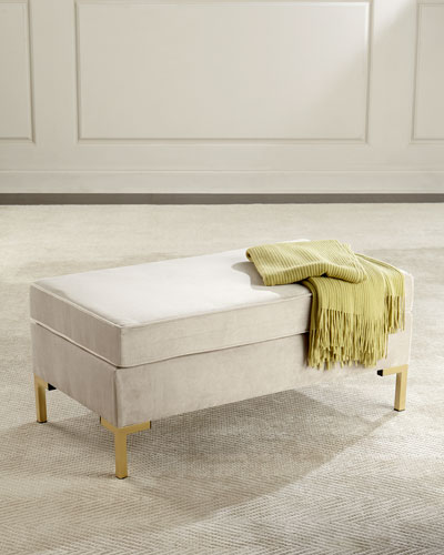 Kendra Pillow-Top Bench