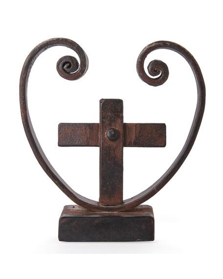 Corozon con Cruz Cross