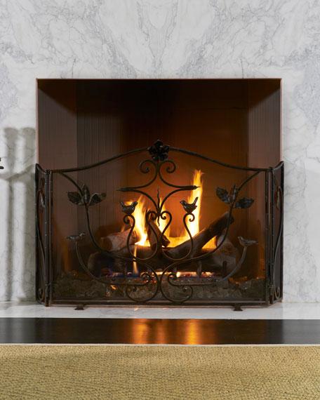 Golondrina Fireplace Screen
