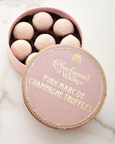 Pink Marc de Champagne Swarovski® Crystal Box