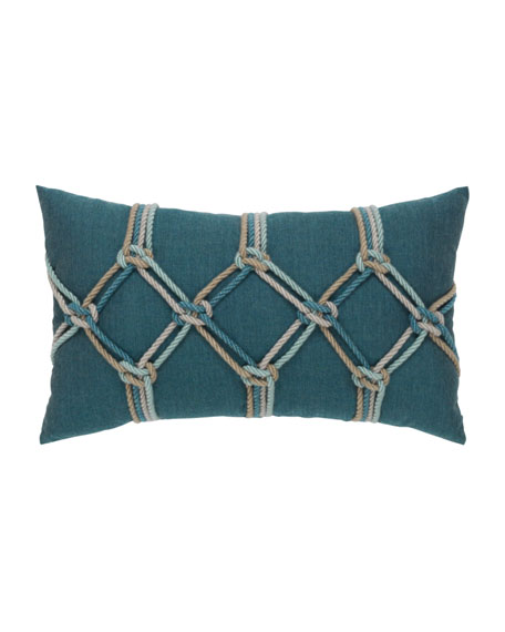 Lagoon Rope Lumbar Pillow, 12