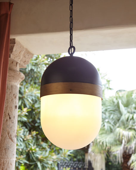 Crystorama Capsule Medium 3-Light Pendant