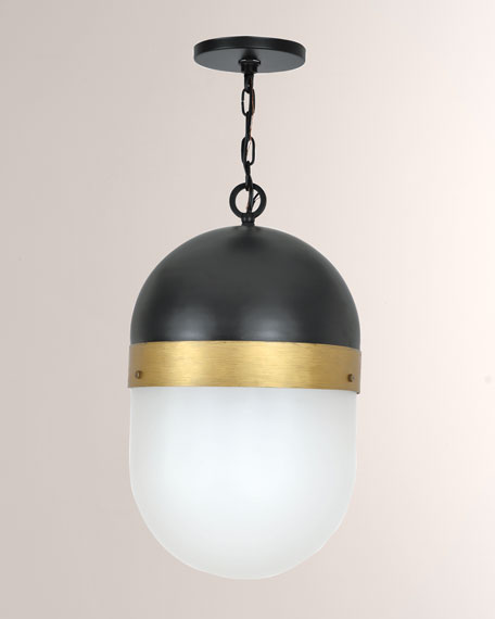Crystorama Capsule Small 1-Light Pendant