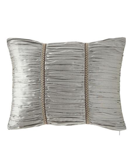 """Rockwell Silk Boudoir Pillow, 14"""" x 20"""""""