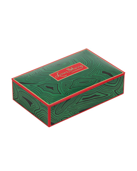 Louis Sherry Malachite 12-Piece Assorted Chocolate Truffle Tin