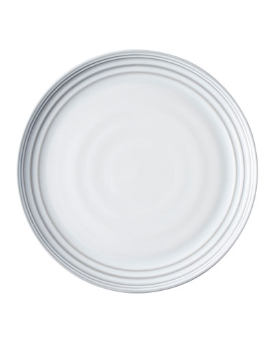 Bilbao White Truffle Dinner Plates, Set of 4