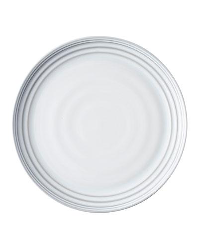 Bilbao White Truffle Dinner Plates, Set of 4
