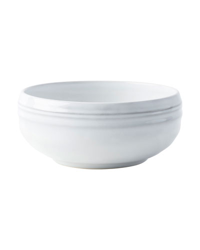 Bilbao White Truffle Cereal Bowls, Set of 4