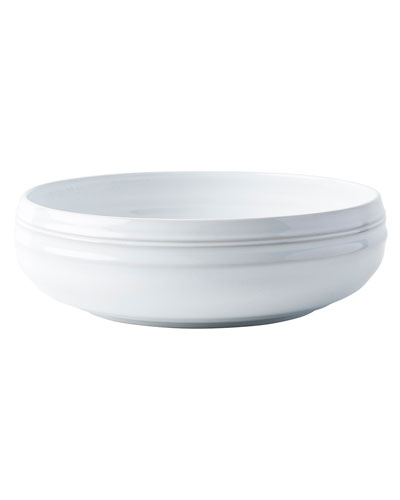 Bilbao White Truffle Serving Bowl, 12