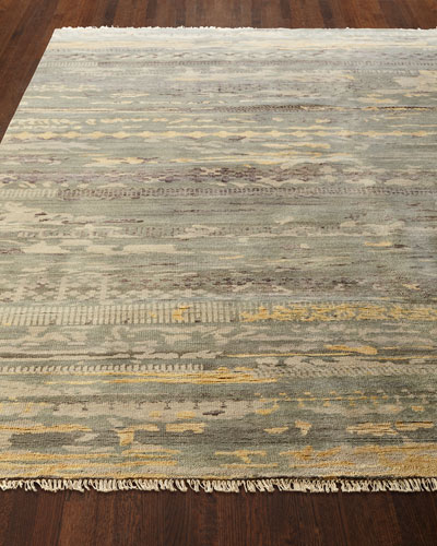 Tecula Hand-Knotted Rug  5' x 6'
