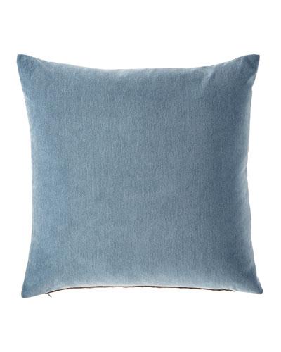Blick Denim Pillow