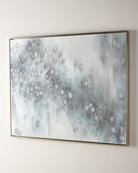 """""""City of Sparkle"""" Original Handcrafted Art Painting on Canvas"""